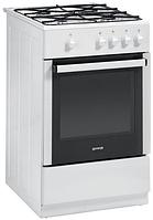 Газовая плита Gorenje G 51100 AW (50 см,газовая духовка,белый)