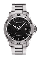 Мужские часы Tissot V8 Automatic T106.407.11.051.00 T1064071105100 (SWISSMATIC), фото 1