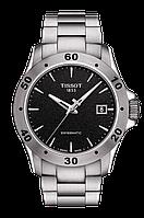 Мужские часы Tissot V8 Automatic T106.407.11.051.00 T1064071105100 (SWISSMATIC)