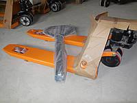 Рокла(рохля)гидравлическая тележка с короткими вилами, фото 1