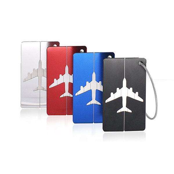 KCASA KC-LP07 Металлическая сумка для путешествий Tags Стальная сумка для чемодана с чемоданом Этикетки Адрес Privacy Cover - 1TopShop