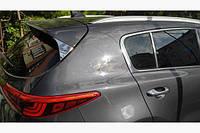 Kia Sportage 2015- Накладки на треугольник крышки багажника 2шт Код:850169632