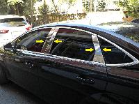 Ford Mondeo 2014- Накладки дверных стоек 6шт Код:850170163