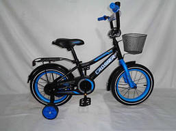 Детский двухколесный велосипед 14 дюймов ROCKY CROSSER-13 велосипед