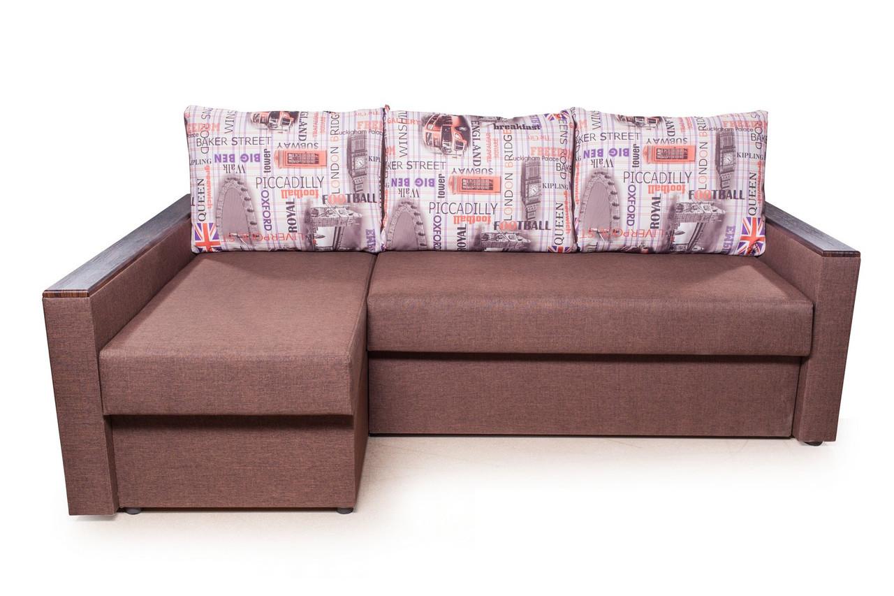 Кутовий диван Вікторія (Блюз)