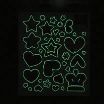 Светящийся темный дом Декор Сияющая звезда Люминесцентная наклейка - 1TopShop, фото 3