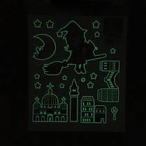 Светящийся темный дом Декор Сияющая звезда Люминесцентная наклейка - 1TopShop, фото 2