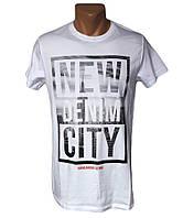 Белая мужская футболка - №5030