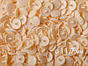 Кнопки пластик Т-5, 11,7 мм, цв. D08 персиковый  (1000 шт / уп.)