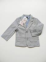 Стильний піджак для хлопчика 6-12 місяців (68-76 см). Street Gang.
