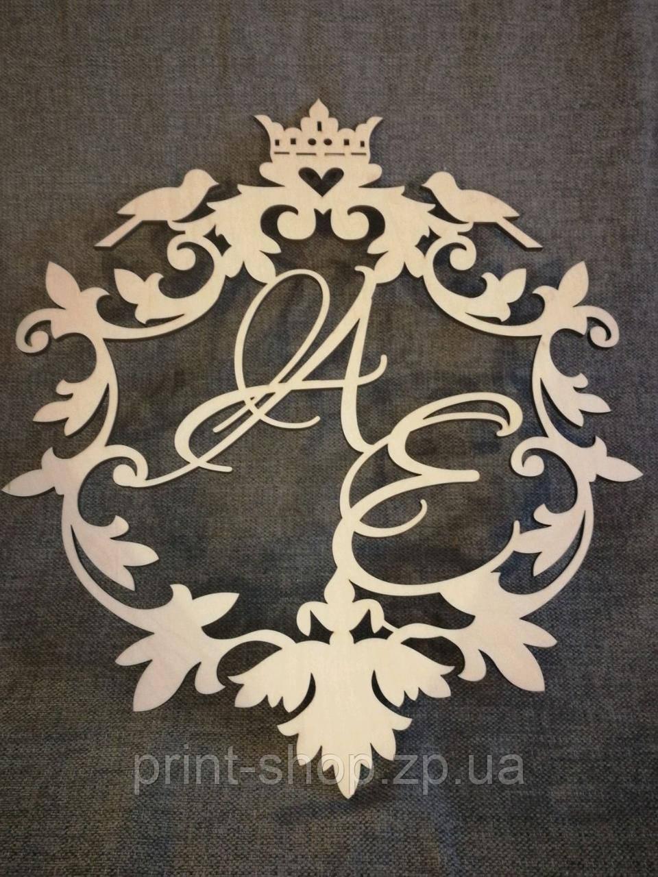 """Весільний герб """"Пташки"""""""