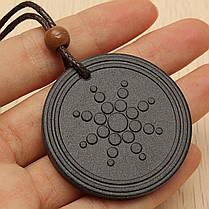 Мощная квантовая скалярная энергия Кулон Ожерелье Здоровье Баланс Магнитный Щит - 1TopShop, фото 3