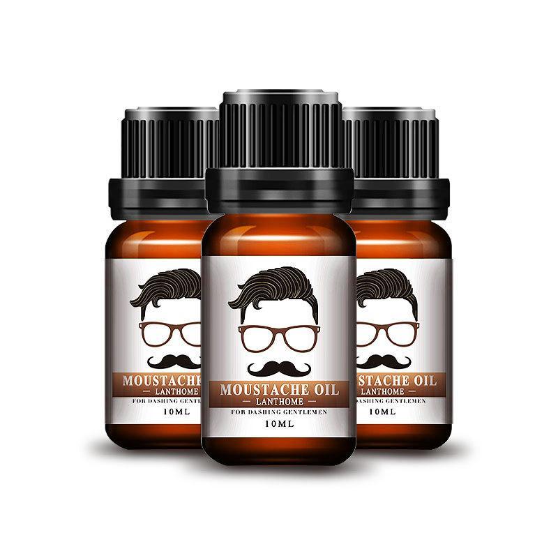 10мл Натуральный Борода Усы Питание Масло Уход Увлажняющий кондиционер - 1TopShop