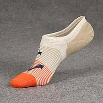 Мужчины Cottton Stripe Low Cut Ankle Носки Спортивная спортивная резинка. устойчивая к дезодорации No Show Носки - 1TopShop, фото 3