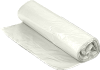 Пакет для мусора 120 л. 10 шт., белый