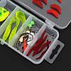 24/72 / 83Pcs / Set Soft Hard Рыбалка Приманка с Коробка Набор мелких крючков для приманки для бас-гитары с приманкой Набор - 1TopShop, фото 4