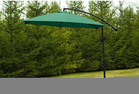 Садовой зонт SiestaDesign Lumi,3 м.зеленый, фото 2
