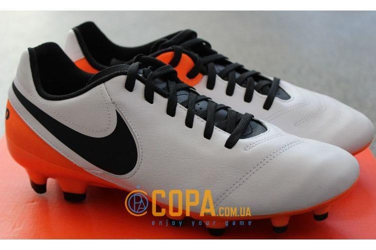 bde7e5c7 Футбольные бутсы Nike Tiempo Genio II FG 819213-108, цена 1 299 грн.,  купить в Киеве — Prom.ua (ID#508296727)