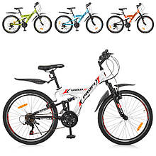 Спортивный велосипед G24GAMBLER S24MIX, сталь ЦВЕТА РАЗНЫЕ