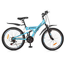 Спортивный велосипед G24GAMBLER S24MIX, сталь ЦВЕТА РАЗНЫЕ, фото 3