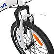 Велосипед спортивный детский G20VEGA A20     БЕЛЫЙ, ЧЕРНЫЙ, фото 3
