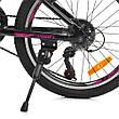 Велосипед спортивный детский G20VEGA A20     БЕЛЫЙ, ЧЕРНЫЙ, фото 4
