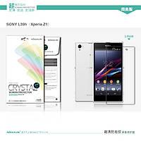 Защитная пленка Nillkin для Sony Xperia Z1 (L36h) глянцевая