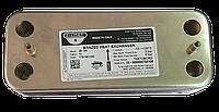 Теплообменник вторичный для котлов ARISTON UNO, BERETTA, ELEXIA, FONDITAL PICTOR, VIESSMANN  Код: 17B1901200