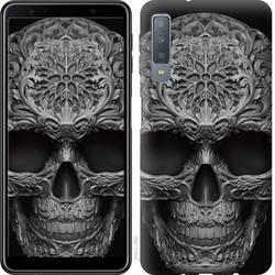 "Чехол на Samsung Galaxy A9 (2018) skull-ornament ""4101c-1503-328"""