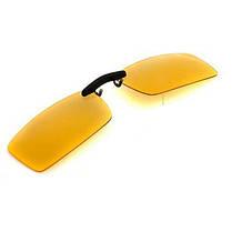 Поляризованные клип на солнцезащитные очки ночного видения очки клип водителя объектива - 1TopShop, фото 3