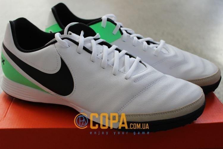 16dd1182 Кожаные сороконожки Nike Tiempo Genio II TF 819216-103: продажа ...