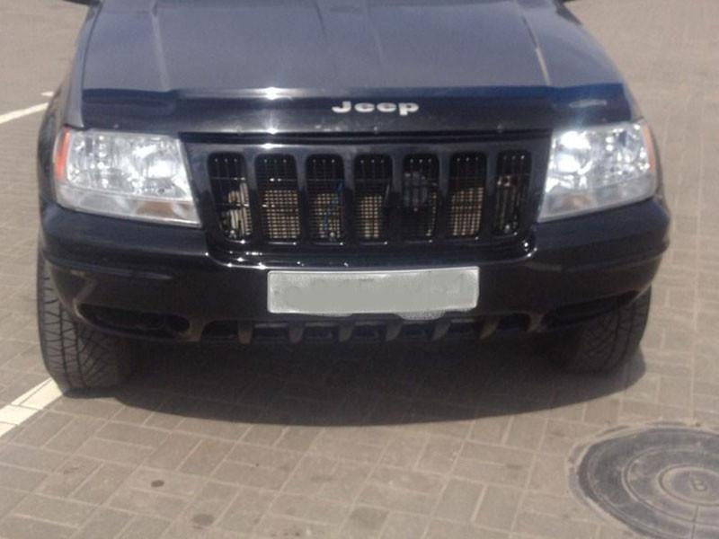 Дефлектор капота (мухобойка) Jeep Grand Cherokee (WJ) c 1999-2004 г.в.