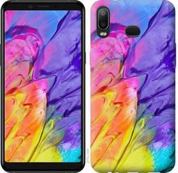 """Чехол на Samsung Galaxy M10 Разноцветные краски """"2273c-1661-328"""""""