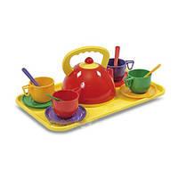 Набор посуды с подносом 14 предметов 14 Юника