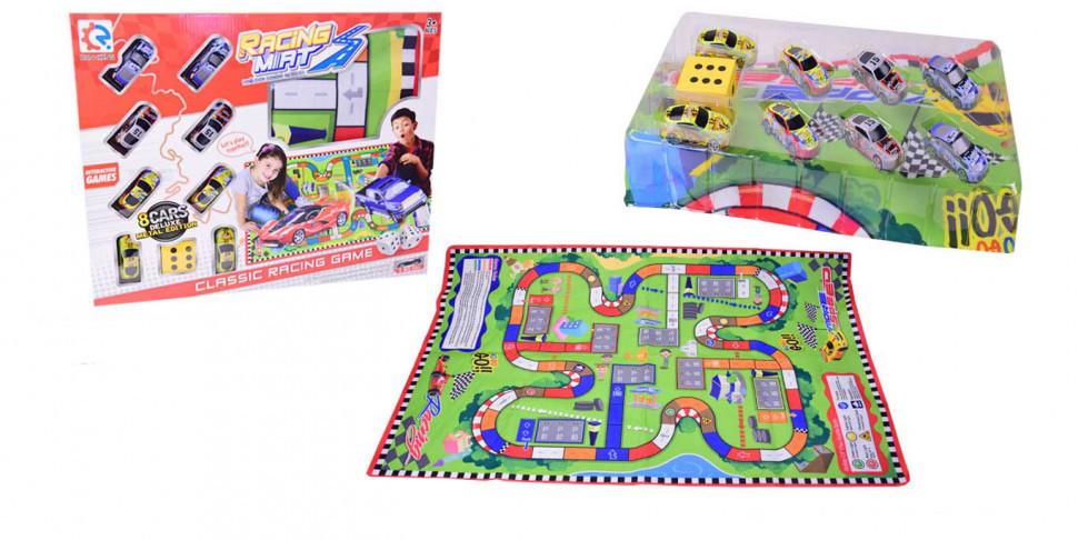 Игровой коврик  с машинками 8289