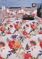 Комплект постельного белья евро-размер № 519