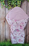 Конверт- одеяло для новорожденного всесезонный Мишки, фото 4