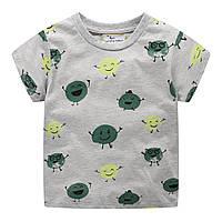 Детская футболка Зеленый горошек Jumping Meters