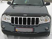 Дефлектор капота (мухобойка) Jeep Grand Cherokee (WK) с 2005–2010 г.в.