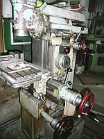 Фрезерный станок 675П бу универсальный металлообрабатывающий 1982 г.