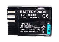 Аккумулятор D-LI90 (аналог) для PENTAX K-7, 645d, K5, K-5, K-01, K-5II, K-5IIs, K3, K3 II - 1860 ma