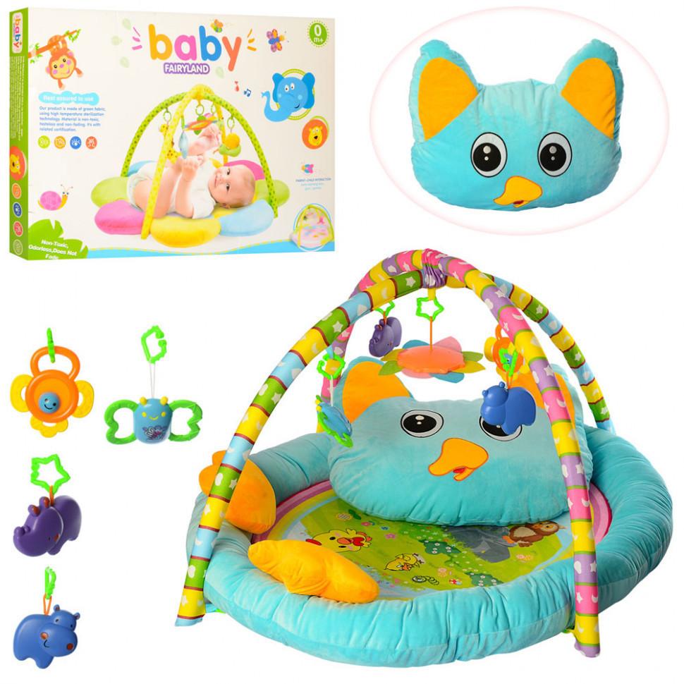 Коврик с дугами для младенца Кошечка  PE905