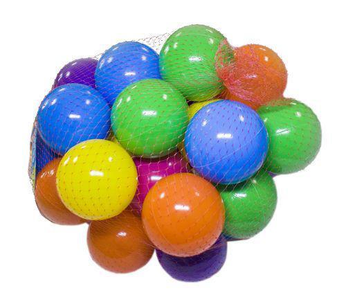 Шарики - мячики для сухих бассейнов, 80 мм 30 шт, 09122