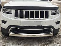 Дефлектор капота (мухобойка) Jeep Grand Cherokee (WK2) с 2010 г.в.