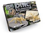 """Набор для проведения раскопок """"DINO EXCAVATION"""" 7513DT динозавры, фото 2"""