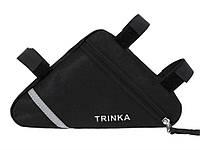 Велосумка підрамні Trinka  Чорна