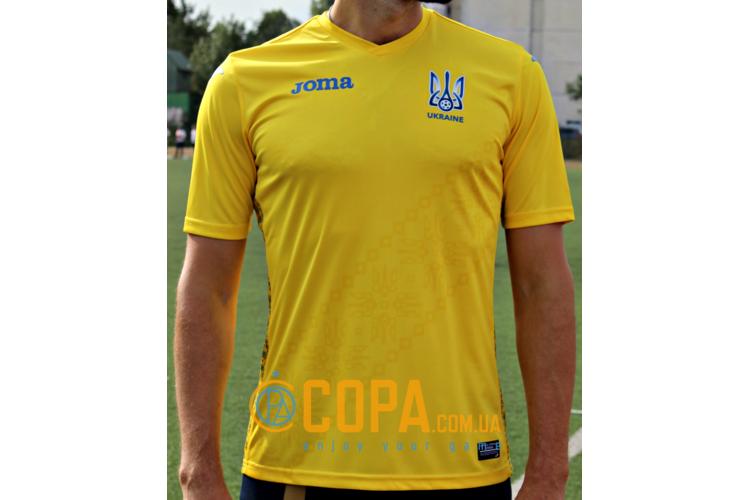 Новая официальная реплика футболки сборной Украины Joma - FFU401011.18, фото 1