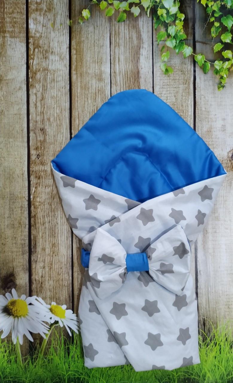 Конверт- одеяло  хлопковый  Звездочки