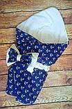 Конверт- одеяло  хлопковый  Звездочки, фото 10
