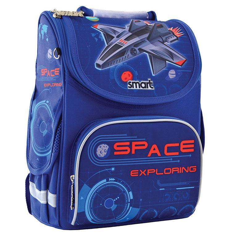 Рюкзак (ранец) 1 Вересня школьный каркасный Smart 556016 Space PG-11 34*26*14см